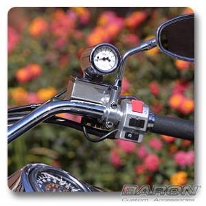 master cylinder mount   mini bullet tach yamaha honda models  baron custom accessories