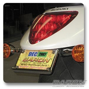 REAR LED LICENSE FRAME KIT - Suzuki M109