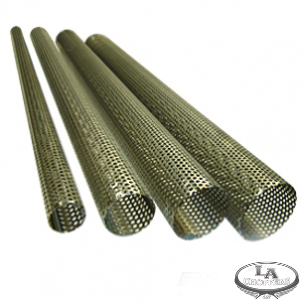 Perforated Stainless Tubing 2 1 2 Quot O D By La Choppers