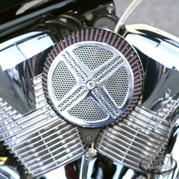 xXx BIG AIR KIT<br>Honda Fury<br>CHROME