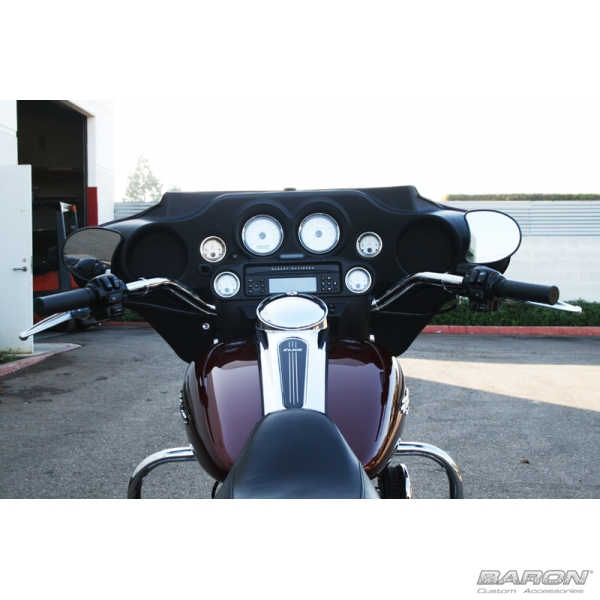 Harley Davidson Accessories >> BIG JOHNSON BAR, CHROME FINISH For Harley® Touring Models by - LA Choppers