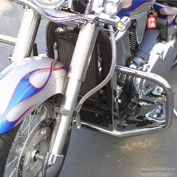 Engine Guardbrkawasaki Vn900 By Baron Custom Accessories