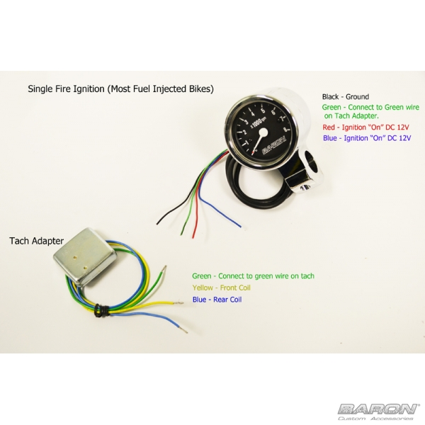 tachometer adapter by