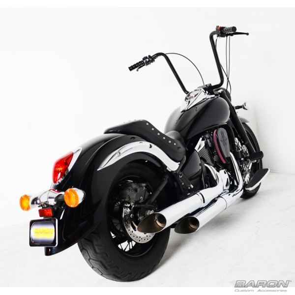 BIG N NASTY PIPES BRKawasaki Vulcan VN900 By