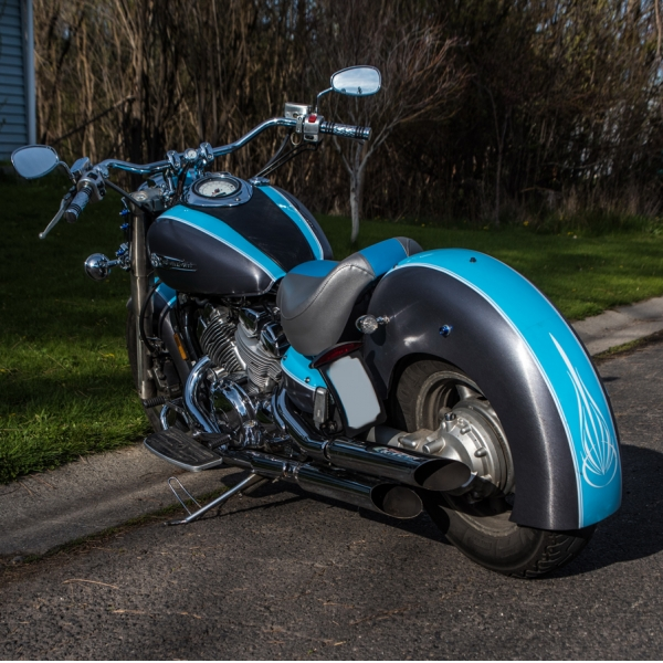 Gangster Rear Fender By Baron Custom Accessories